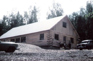 Photos courtesy of Val McKenney, Solid Rock. The first part of Memorial Lodge at Solid Rock Bible Camp was built in 1959 and has been added to over the years.