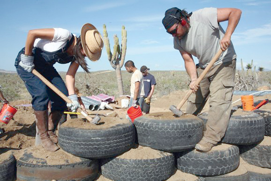 Their Materials Leave A Minimal Carbon Footprint (but Still More Than Using  Manpower And Recycled Tires) And ...