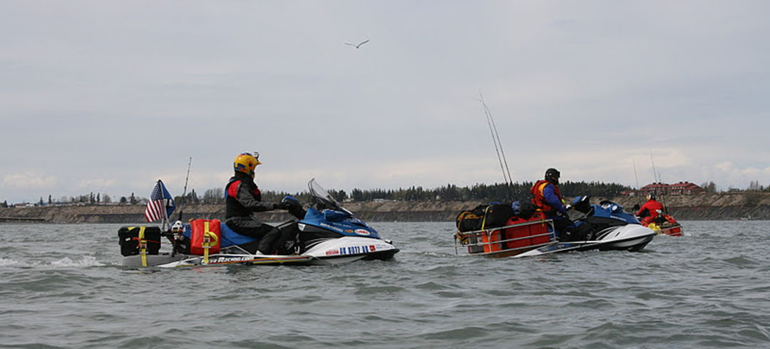 2,000-mile Alaska jet ski race revs up planning | The Mouth of The Kenai