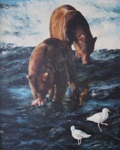 art_Katmai Bears_ Jenny Johnson