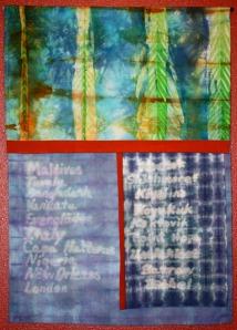 """""""Sea Level Rising"""" by Jan Wallace at Kaladi Brothers on Kobuk in Soldotna."""