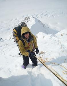 SHARE Seth climbing solo