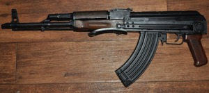 Photo by Joseph Robertia, Redoubt Reporter. AK-47s and similar firearms are among those highly sought for purchase in the wake of the deadly shootings at Sandy Hook Elementary School in Connecticut.