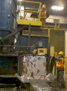 landfill bailer