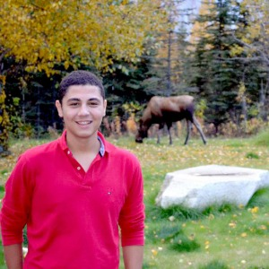 Photo courtesy of AFS on the Kenai PeninsulaCem Solak, of Turkey, is enjoying his time as an exchange student in Alaska, even though it's far from where he originally expected to be placed.