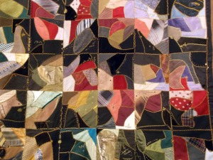 """Crazy Quilt"" by Mary Jean Koch."