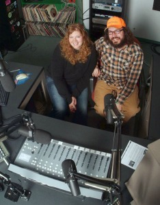 Photo by Roy Mullin, courtesy of KDLL public radio 91.9 FM. Trina Uvaas and Dan Pascucci host Musicology from 7 to 9 p.m. Tuesday nights opposite Kenai Peninsula Borough Assembly meetings.