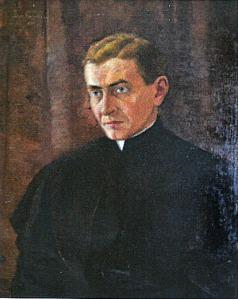 """Portrait of Dr. Lev Skobelsky,"" Roxy Skobelsky's father, also is on display in the ""Heirloom Treasures of Roxolana Skobelska Pomeroy"" exhibit."