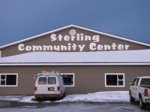 Photos courtesy of the Sterling Community Club Board. A new community center, a decade in the planning, is set to open as soon as next month.