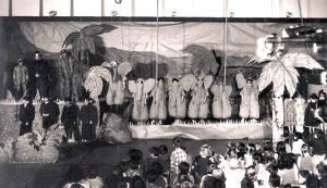 "Sixth-graders wow the crowd in their elephant costumes in ""The Jungle Book."""