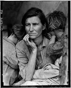 "Figure 1 — ""Migrant Mother"" by Dorothea Lange."