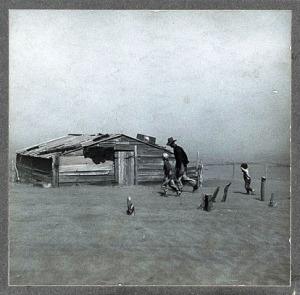 "Figure 2 — ""Dust Bowl"" by Arthur Rothstein."