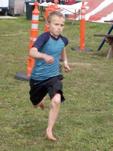 Photo courtesy of the Martin family. Matti Martin, seen here competing in a race during a Summer Solstice festival at Diamond M Ranch in 2009, is the motivation behind Matti's Farm,  a nonprofit organization aiming to connect at-risk and disadvantaged youth with the opportunity to experience hands-on farming fun, learn  leadership skills and gain confidence.
