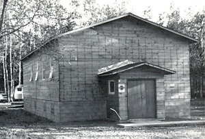 The Baptist church in Soldotna circa 1959.
