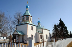 Photo by Clark Fair, Redoubt Reporter. The Russian Orthodox Church in Kenai as it appears today.