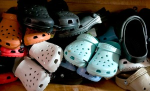 """Crocs,"" by Joe Kashi."