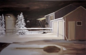 """Untitled (Winter house)"" by Rachel Mulvihill."