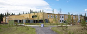 Photo courtesy of KPC. The new resident hall at Kenai Peninsula College's Kenai River Campus opened with a ribbon-cutting ceremony Thursday.