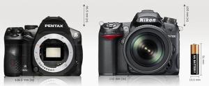 K-30 vs Nikon D7000.