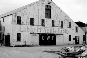 File photo. The warehouse at Kenai Wards Cove. The building was dismantled and sold off in 2012.