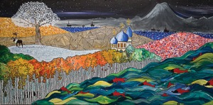 "Paint the Kenai entry: ""Kenai La Belle,"" by Fanny Ryland"