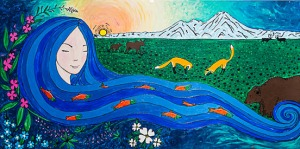 """Mother Kenai"" by Amy Kruse."