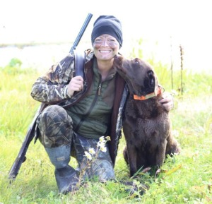 Photo courtesy of Christine Cunningham, Luckily, there are other elements of duck hunting to enjoy, such as working with a canine companion, while mastering the finer points of duck calls.