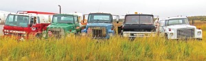 Photos by Clark Fair, for the Redoubt Reporter. Located off the road system, vehicles that come to Dillingham, shipped at significant expense, seldom leave. As a result, vehicle graveyards are a common sight.