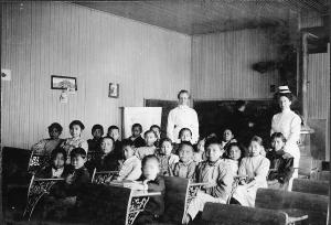 Seldovia School, pictured in 1910.