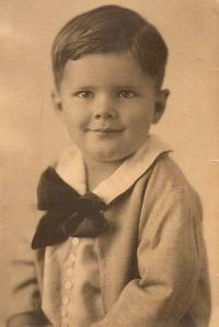William Spencer Reeder Sr. as a boy in California, in about 1925.