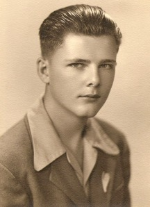 Reeder as a young man.