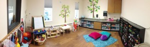 Photo courtesy of Peninsula Community Health Services. A play therapy room at Peninsula Community Health Service's new facility in Kenai.