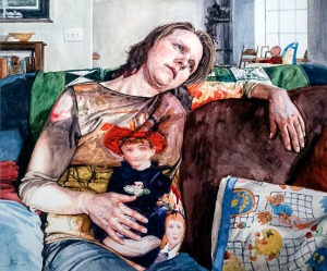 "Best in Show — ""Mother and Child"" by James Adcox"