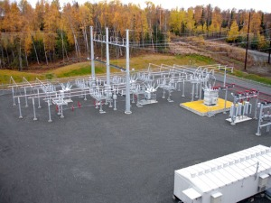 A new substation on Swanson River Road has been serving Sterling since October.