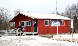 Photos by Jenny Neyman, Redoubt Reporter. The post office in Clam Gulch will reduce its hours in the fall.