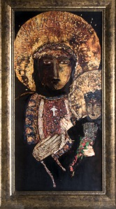 "Best in Show, ""Found in a Cave, Madonna and Child,"" by Kathy Matta."