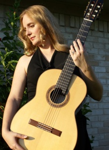 Photo courtesy of Valerie Harzell. Valerie Hartzell will perform a classical guitar concert Friday in Soldotna, sponsored by the Performing Arts Society.