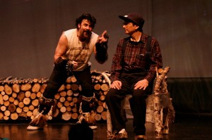"Photos courtesy of Anita Algiene. ""The Winter Bear"" will be performed at 7:30 p.m. April 25 at the fairgrounds in  Ninilchik and 7:30 p.m. April 26 at Ionia in Kasilof."