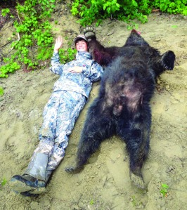 Hunter Paustian wasn't lucky enough to bag an Alaska brown bear, as he'd hoped in his wish-granted trip hunting out of Kenai earlier this month. But he did take the biggest black bear he's yet harvested.