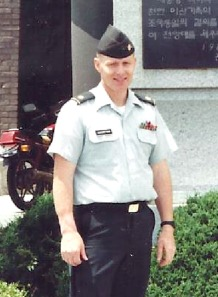 Photo courtesy of Gene Engebretsen. Maj. Gene Engebretsen, of Soldotna, during his career in the Army.