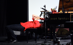 Farnham playing-piano-upside-down