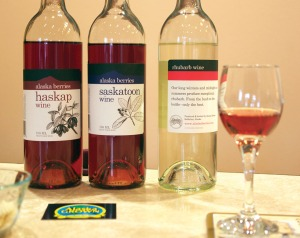 Alaska Berries offers 13 flavors of fruit wine, including some unusual offerings, its Saskatoon and Haskap varieties.