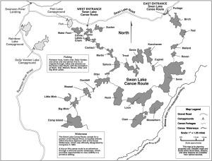 Map courtesy of the U.S. Fish and Wildlife Service