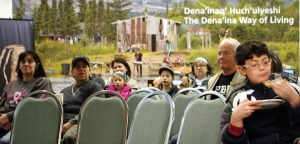 "The audience at Friday's winter celebration listened to live performances of music and stories, ate fry bread and salmon dip and viewed the ""Dena'ina Way of Living"" exhibit."