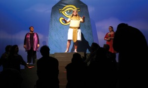 Joseph holds court in his new role of power in Egypt.