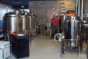 Photo courtesy of Elaine Howell. Resolution Brewing Co. in Anchorage plans to open March 15.