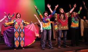"Redoubt Reporter file photo. The Kenai Performers have staged shows wherever they could find space throughout the group's 40-plus-year history, including ""Joseph and the Amazing Technicolor Dreamcoat"" at Kenai Central High School this winter. The city of Kenai is donating a parcel of land for the group to build its own theater."