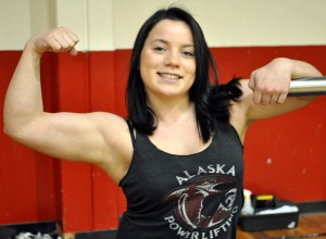 Cipriana Castellano, a 17-year-old junior at Kenai Central High School, is hoping for a gold at the 2015 Raw World Championship in Finland. She has already broken records in two different weight classes for her age division.