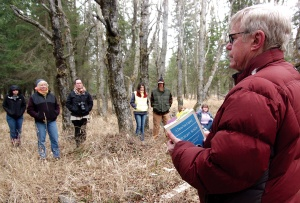 Boraas tells a story from Dena'ina elder Peter Kalifornsky, who was born at Kalifornsky Village, and played a vital part in saving the Kenai Dena'ina dialect from going extinct.