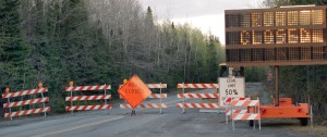 Photos by Jenny Neyman, ,Redoubt Reporter. Skilak Lake Road has been closed since Thursday. The lower section of road, miles 19 to 8.5, was reopened to four-wheel-drive vehicles Tuesday, though RV and trailer traffic still is not allowed.